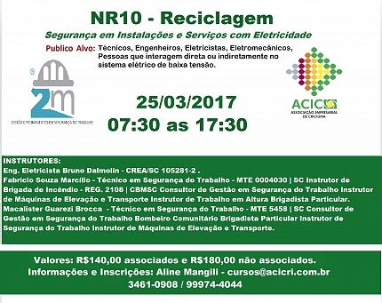 NR10 - RECICLAGEM