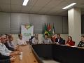 Desenvolvimento econômico é pauta de encontro da Acic com o prefeito de Criciúma