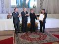 Vice-presidente e diretor da Acic são homenageados pelo Legislativo de Criciúma