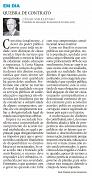 01/05/2016 - Artigo Diário Catarinense