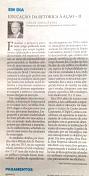 02/02/2016 - Artigo Publicado Jornal Diário Catarinense