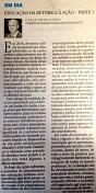 12/01/2016 - Artigo Publicado Jornal Diário Catarinense