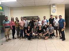 Acadêmicos da Faculdade Senac visitam a Acic