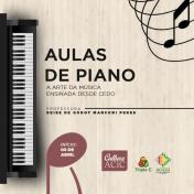 Acic abre inscrições para aulas de piano
