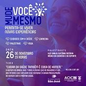 Acic e Plano de Saúde São José promovem palestra em alusão ao Novembro Azul