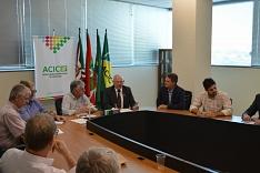Acic recebe presidente da Facisc