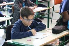 Alunos demostram confiança e otimismo na primeira fase do 6º Prêmio Acic de Matemática