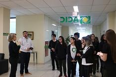 Alunos têm vivência sobre administração e associativismo em visita à Acic