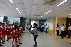 Crianças do Bairro visitam a Acic para agradecer por mais um ano de parcerias