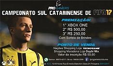 Inscrições abertas para o primeiro Campeonato Sul Catarinense de FIFA 17