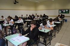 Mais de 17,5 mil alunos realizam a prova do Prêmio de Matemática nesta quinta-feira