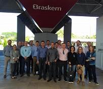 Missão Sul Catarinense do Setor Plástico visita Braskem no polo petroquímico de Triunfo, no Rio Grande Sul
