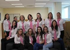Outubro Rosa mobiliza colaboradores da Acic