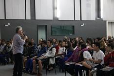 Projeto Escolas na Acic recebe estudantes da Escola Filho do Mineiro