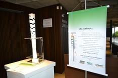 Tocha olímpica está em exposição na ACIC