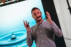 Tomás de Lara explica na Expomais o que é o movimento global das empresas B
