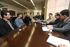 Vice-governador recebe projeto do Centro de Inovação de Criciúma