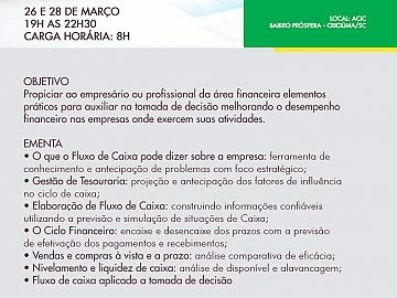 GESTÃO DE FLUXO DE CAIXA