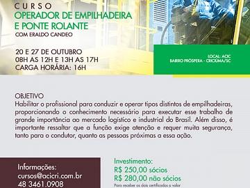 OPERADOR DE EMPILHADEIRA E PONTE ROLANTE
