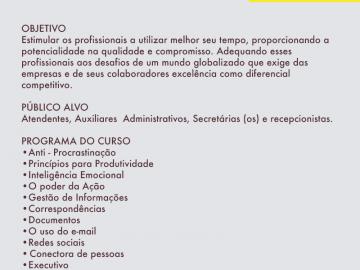 SECRETÁRIAS E RECEPCIONISTAS: ATUALIZANDO-SE PARA NOVOS DESAFIOS