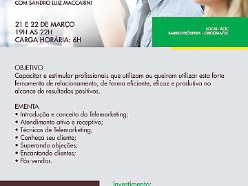 TELEMARKETING - FERRAMENTA DE PODER