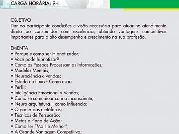 VENDAS COM ATENDIMENTO HIPNOTIZADOR