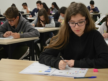Clima de concentração marca 2ª etapa do Prêmio Acic de Matemática