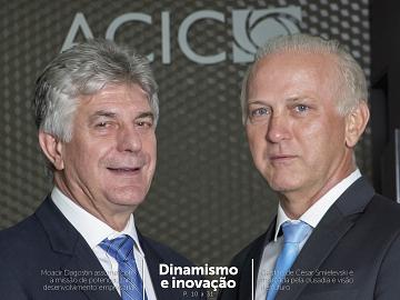 Nova edição da Revista Liderança Empresarial é lançada durante posse da diretoria da Acic