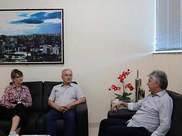 Nova gerente executiva do Sesi/Senai Regional Sul conhece a Acic