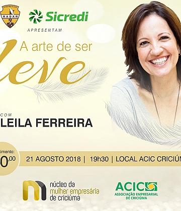 A arte de ser leve - Leila Ferreira