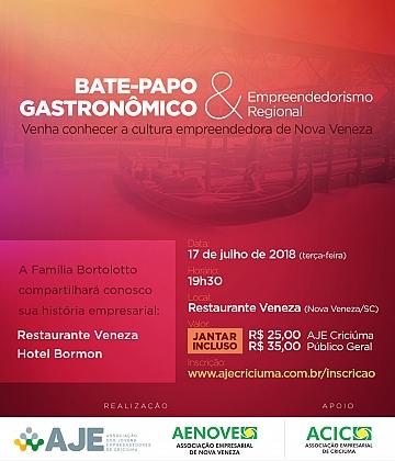 Bate papo Gastronômico