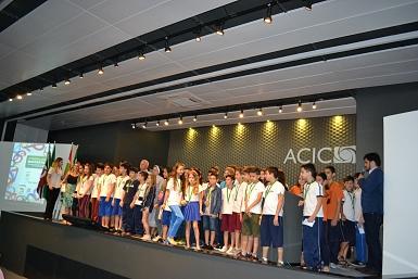 ACIC premia os campeões de matemática