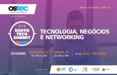 Criciúma sedia evento de tecnologia