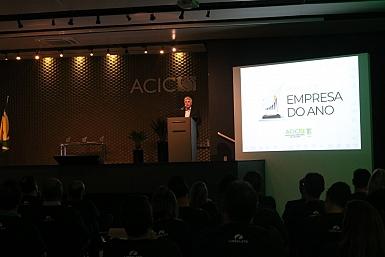 Moacir Dagostin – Prêmio Acic Empresa do Ano – 16/12/2019