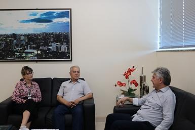 Nova gerente executiva do Sesi/Senai conhece a Acic