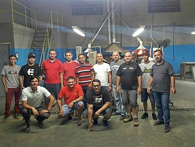 Núcleo de Motomecânicos realiza missão empresarial à fábrica de baterias Komotors