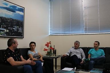 Presidente da Acic recebe membros do Conselho do CriciumaPrev