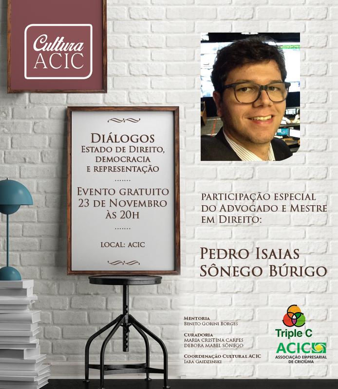 Diálogos - Estado de Direito, Democracia e Representação