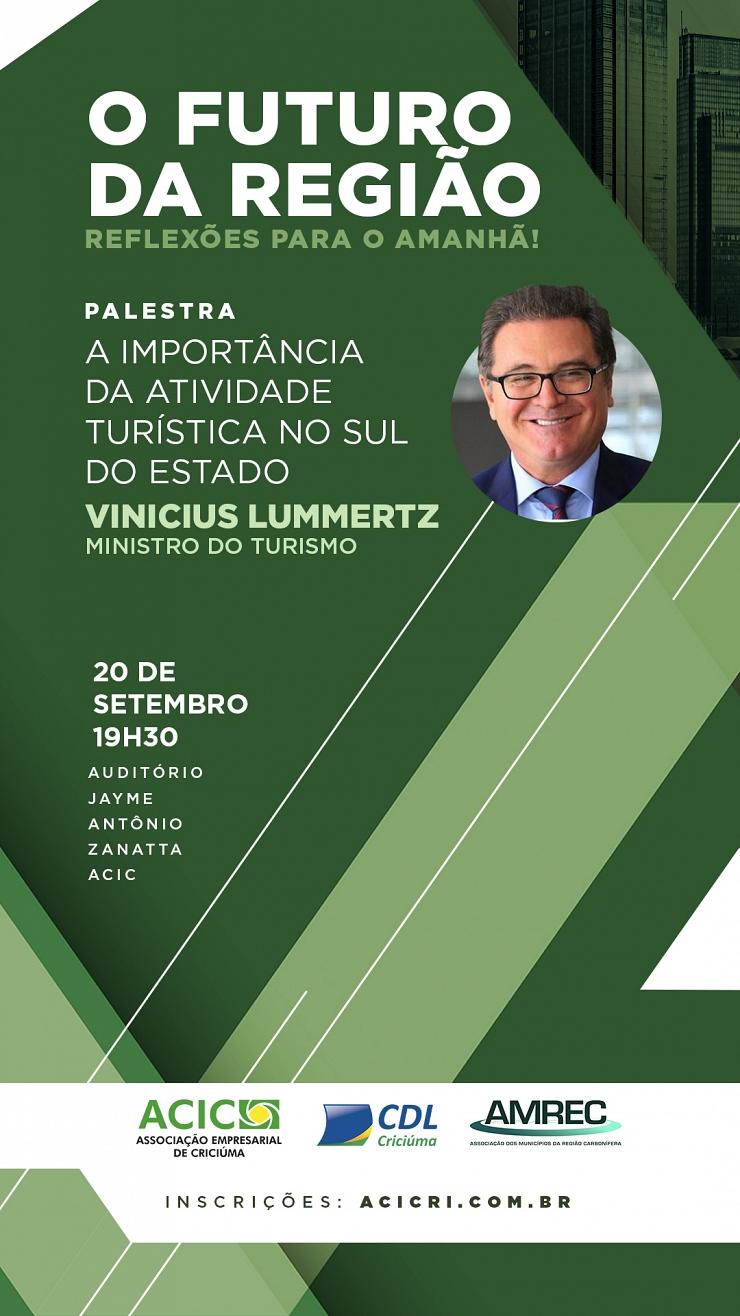 O FUTURO DA REGIÃO - A IMPORTÂNCIA DA ATIVIDADE TURÍSTICA NO SUL DO ESTADO